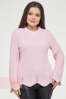 Джемпер женский 182-4755 Фемина (Светло-розовый)