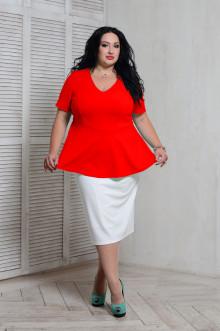 Блуза 066704 ЛаТэ (Красный)