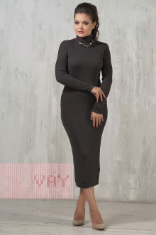 Платье женское 2237 Фемина (Антрацит)