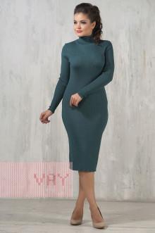Платье женское 2236 Фемина (Морская волна)