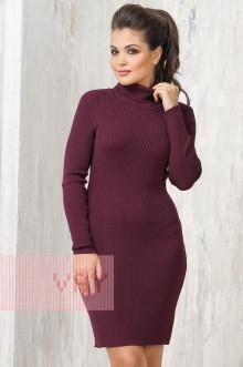 Платье женское 2235 Фемина (Баклажан)